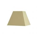 Abat-jour carré pyramidal base  10 cm