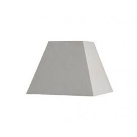 Abat-jour carré pyramidal base 15 cm