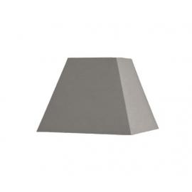 Abat-jour carré pyramidal base 20 cm