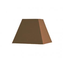 Abat-jour carré pyramidal base 30 cm