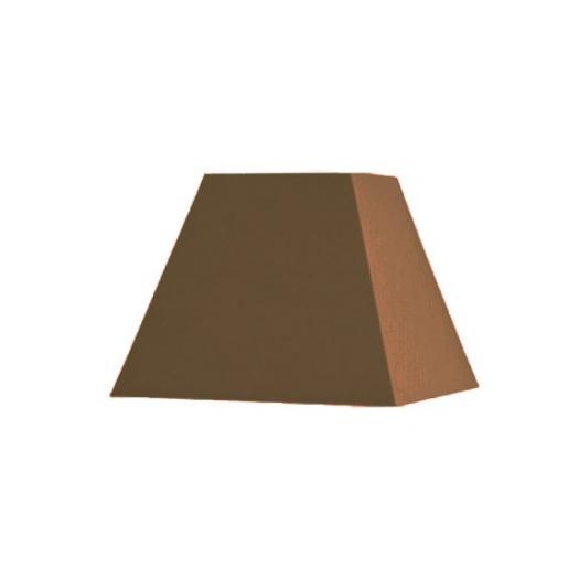 Abat-jour carré pyramidal base  80 cm