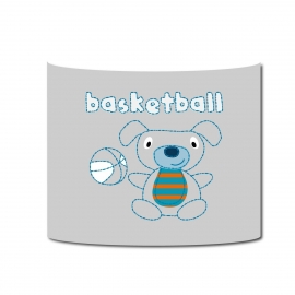 Applique  Vintage basketball